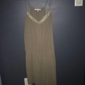 Khaki/Beige Dress